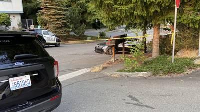 Investigation underway after gunfire near grocery store, car crash
