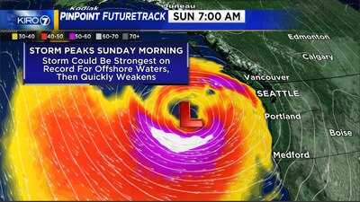 Wet, windy weekend in Western Washington with high winds, possible power outages ahead