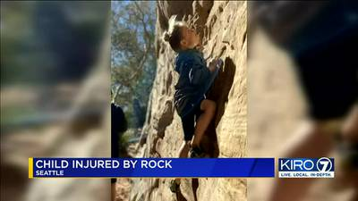 6-year-old badly hurt in Snohomish County rock climbing accident