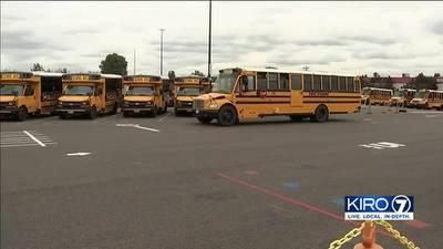 VIDEO: SPS school buses delayed