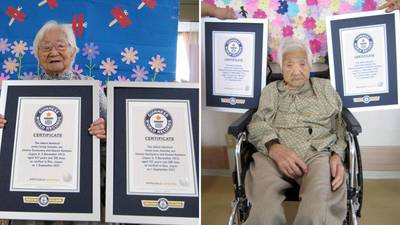 107-year-old Japanese sisters named world's oldest identical twins