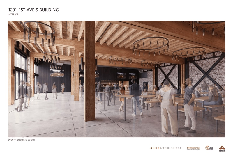 Old Pyramid Brewery building: Renderings of proposed designs