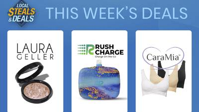 Steals and Deals: 3 Easy Tips for your next getaway with Laura Geller, Cara Mia and Rush Charge
