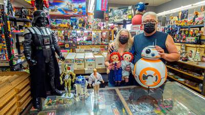 They've sold antique toys downtown for 30 years. Now this Tacoma couple is retiring