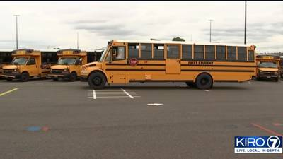 Sumner, Bonney Lake students head back to class amid bus driver shortage