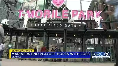 Mariners fans feeling 'sad' but looking ahead to next season