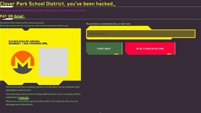 Clover Park School District investigating possible ransomware attack