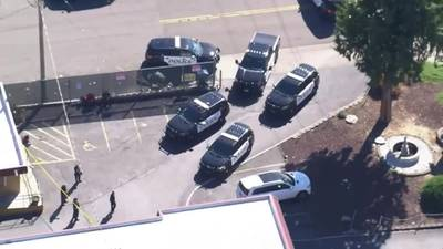 RAW: Chopper 7 over the scene of a reported shooting in Federal Way