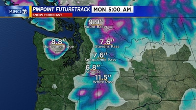 Rain, mountain snow increasing this weekend
