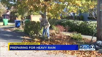 VIDEO: Western Washington prepares for more rain Wednesday