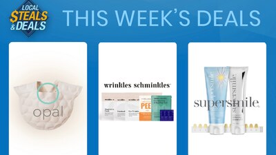 Local Steals and Deals: Must-haves to be your best with Wrinkles Schminkles, Opal Cool & Supersmile