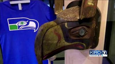 VIDEO: Seahawks logo has direct connection to native people in B.C.