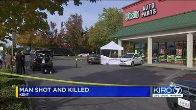 VIDEO: Man shot and killed in Kent