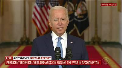 RAW: President Biden Addresses Ending War in Afghanistan