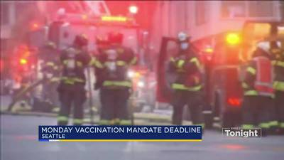 VIDEO: Some first responders start packing up ahead of vaccine requirement