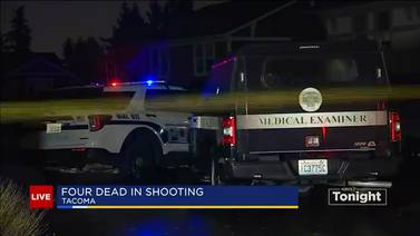4 dead after Tacoma shooting