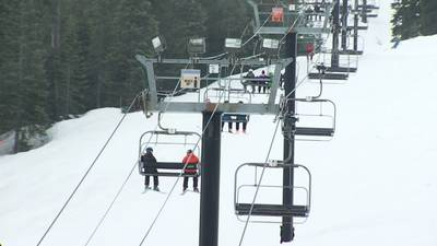 Skiers, snowboarders seek refuge from pandemic on closing day at Summit at Snoqualmie