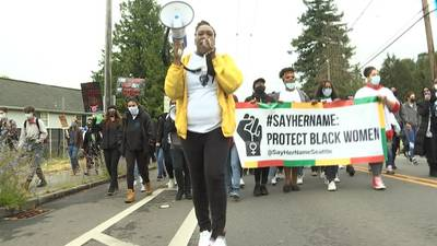 March, rally highlights deaths of black women at hands of police