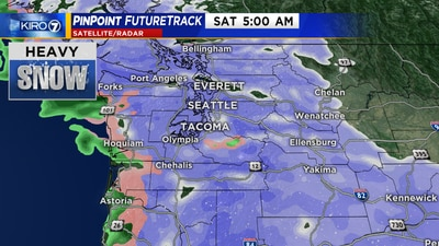 Snow south Thursday, areawide by the weekend
