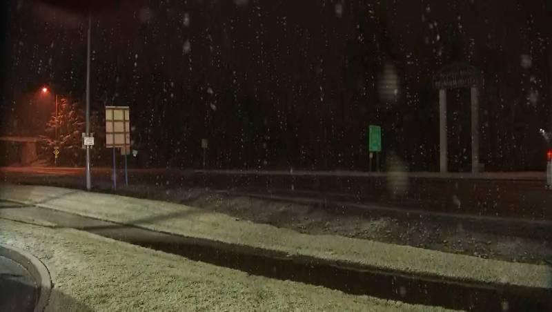 North Bend snow 2-8-21