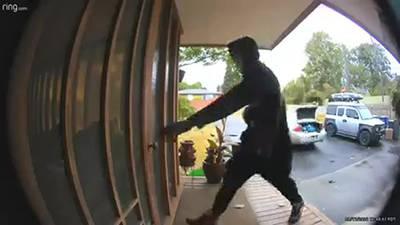 RAW: Skyway burglars caught on doorbell camera
