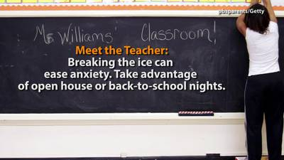 VIDEO: Back to school tips for parents with first time students
