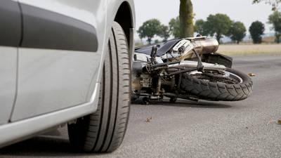 Dirt bike rider hits fire truck, dragged, killed