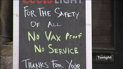 VIDEO: Some restaurants, bars already implemented their own vaccine requirements
