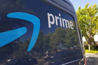 Man accused of pushing Amazon driver into delivery truck and taking off