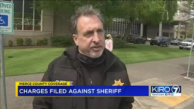 VIDEO: Charges filed against Pierce County sheriff