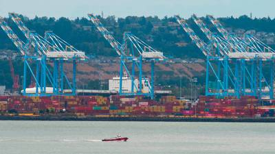 Around 40 shipping containers adrift off Washington coast