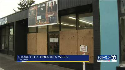 VIDEO: Burglars hit iconic Tacoma store