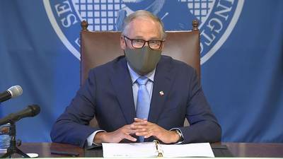 VIDEO: Gov. Inslee announces backlog of unemployment claims in adjudication will be cleared