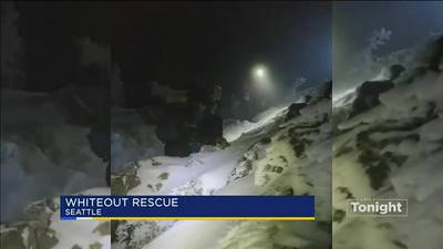 Two hikers rescued after whiteout conditions on Three Fingers Mountain