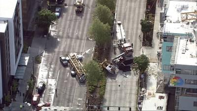 Body camera video reveals response to Seattle crane collapse