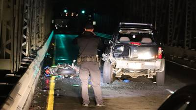 Motorcyclist ejected into river during crash dies at Everett hospital